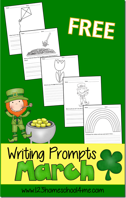 Homeschool creative writing ideas