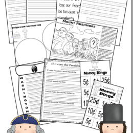 Free Presidents Day Printable Mini Unit Study