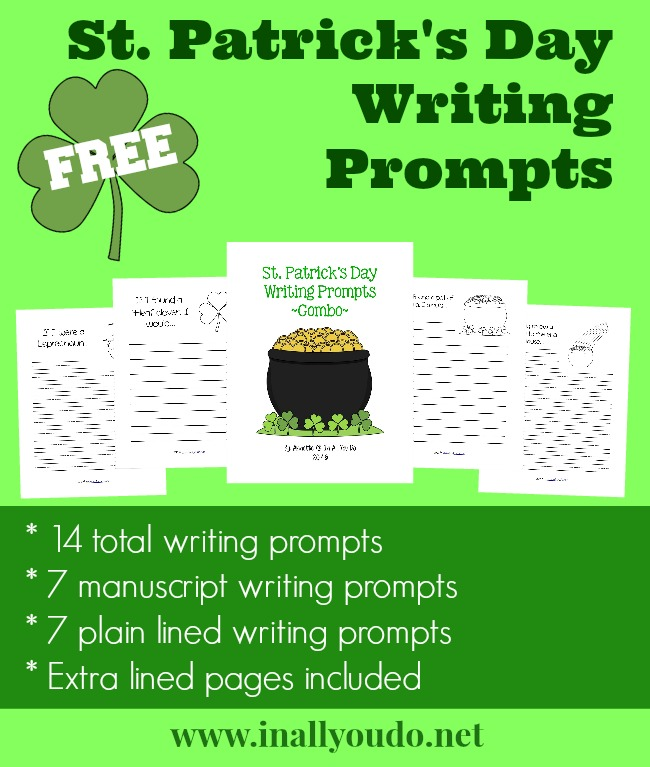 St. Patricks Day Writing Prompts