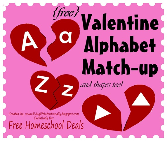 Valentine Match Up Puzzles