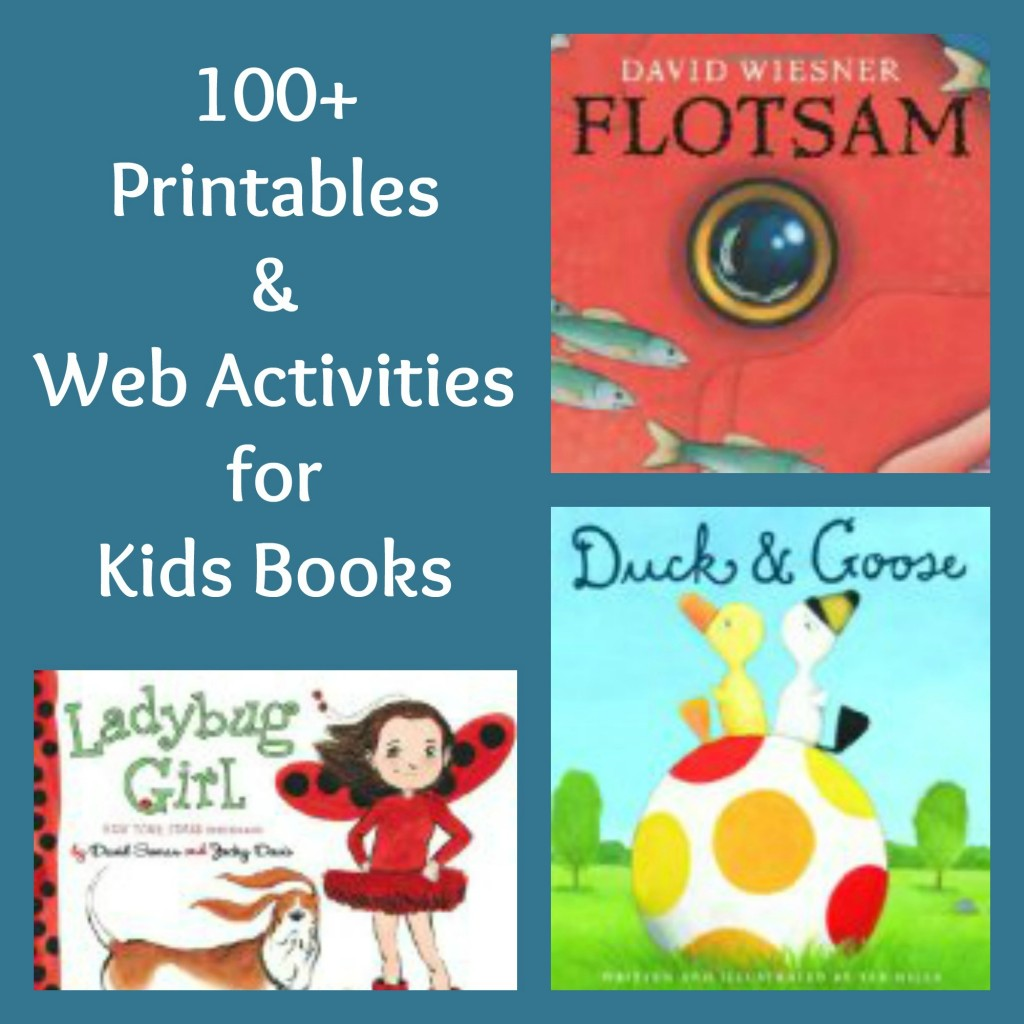 Children S Book Cover Printables : Free printables activities for kids books