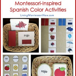 Free Spanish Printables and Monessori Activities