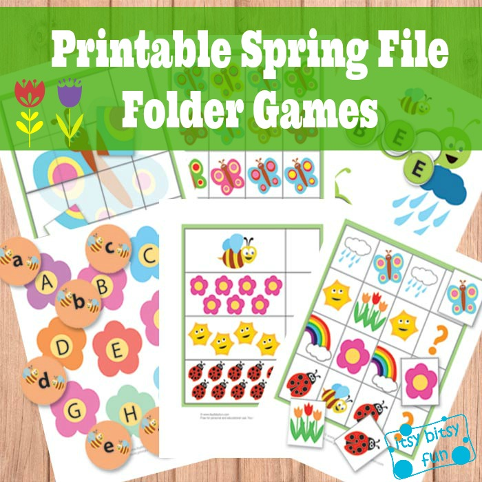Free Spring File Folder Games : Free Homeschool Deals