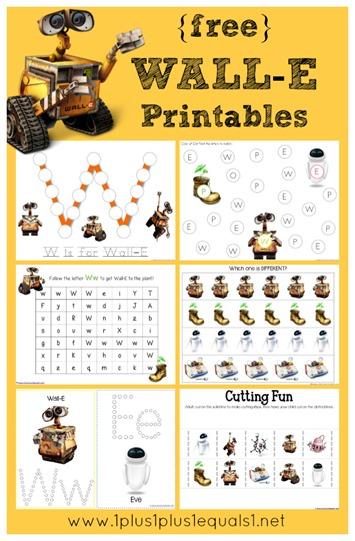 WallE Printables Free Free