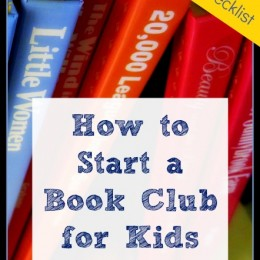 Free Checklist: How to Start a Book Club for Kids