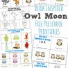 Owl Moon Printables