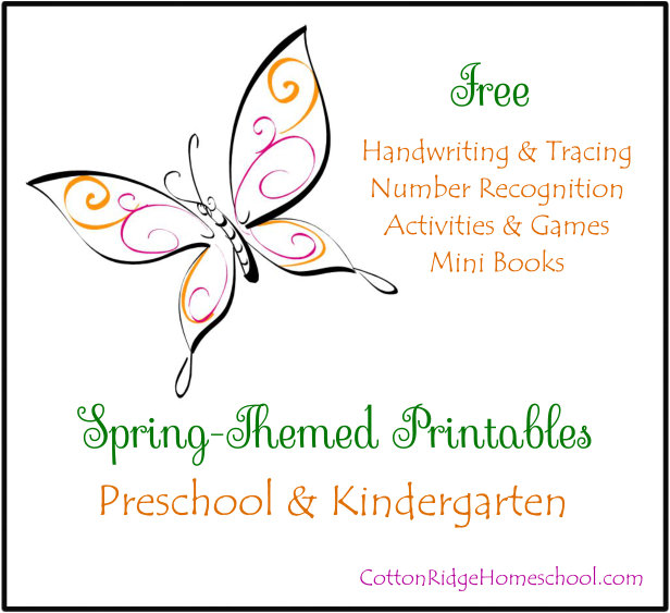 Spring Themed Printables