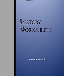 Free History Worksheets – 48 Page Set