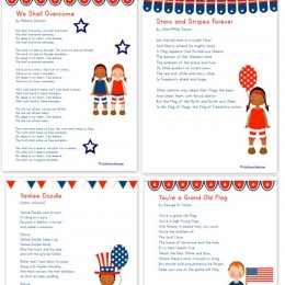 Free Printables: 10 Patriotic Songs for Children