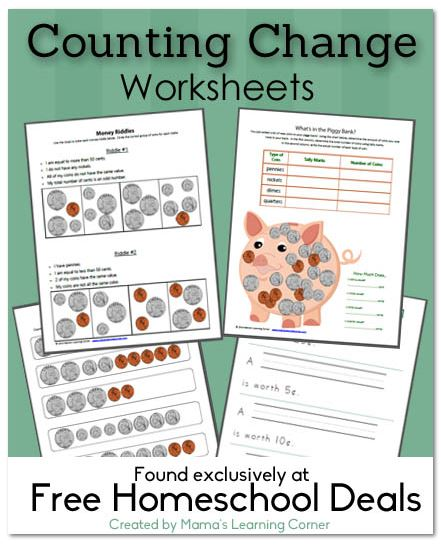 Free Download Counting Change Worksheets Free