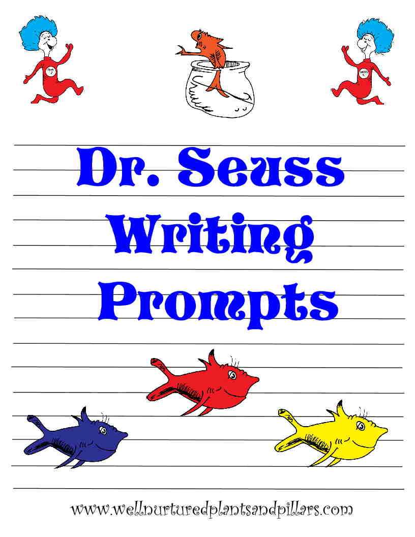 dr seuss writing paper Students color and cut out their circus tent and then attach their completed writing prompt paper to either side writing prompts for dr seuss seuss writing prompts.