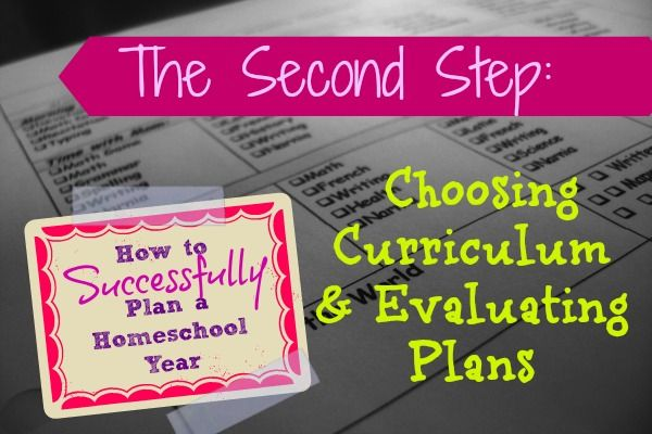 Free choosing homeschool curriculum evaluating plans for How to choose a house plan