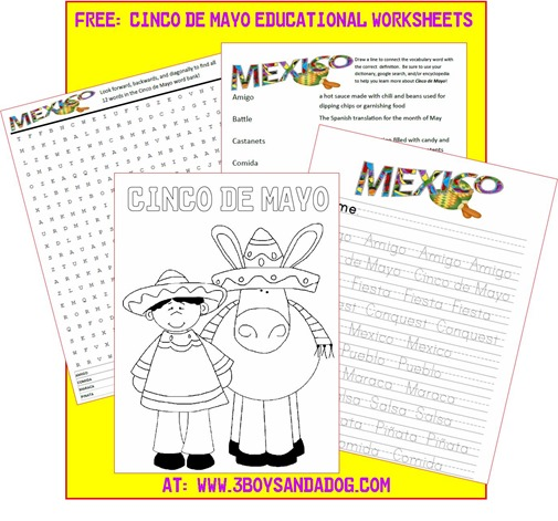 cinco de mayo activities for preschoolers free printable cinco de mayo activities for free 457