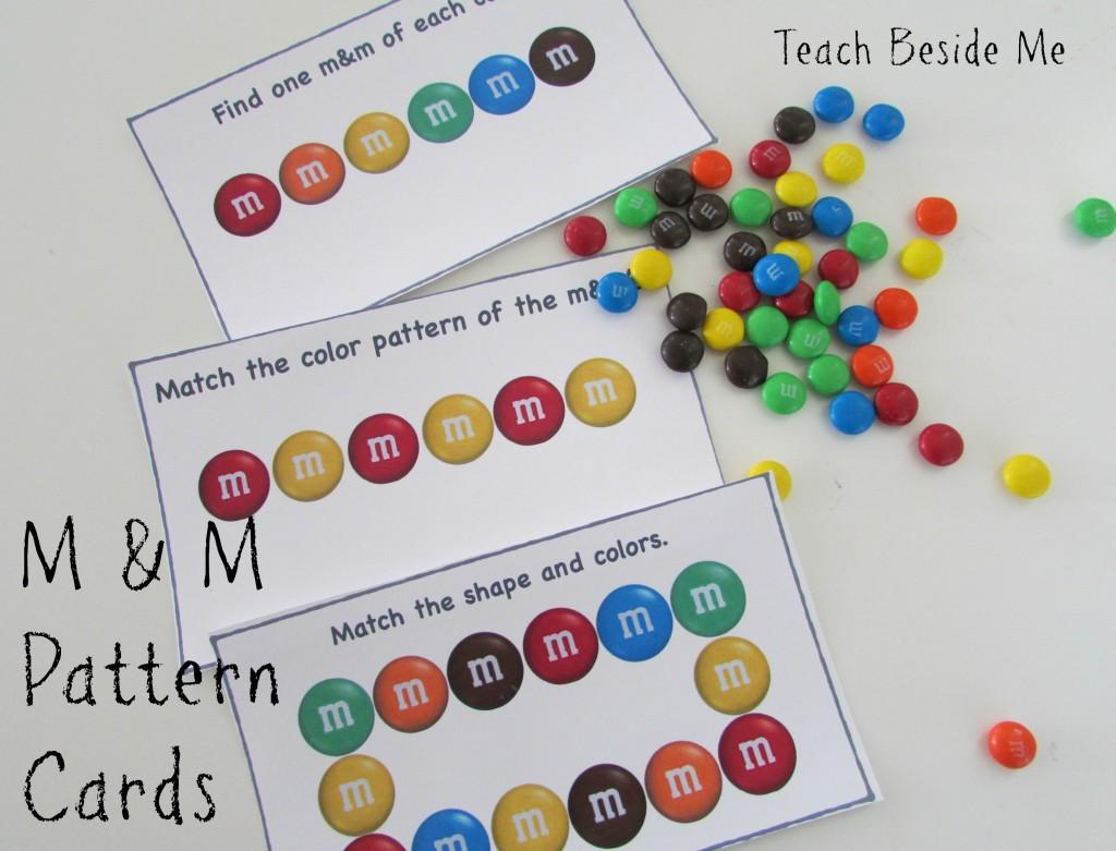Free M Amp M Math Pattern Cards Free Homeschool Deals