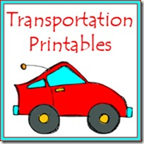 Free Transportation Prek Printables Pack Free Homeschool