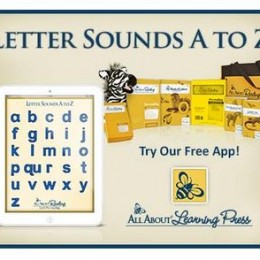 Free Letter Sounds A to Z App from All About Reading!