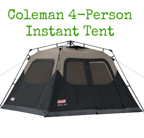 4 Person Instant Tent : Highly rated coleman person instant tent up to off