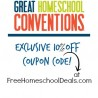 Great Homeschool Conventions Coupon Code