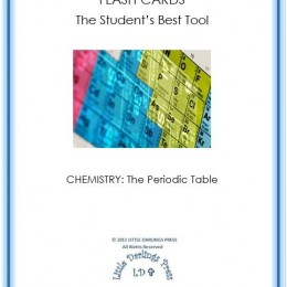 Free Chemistry Flash Cards: Periodic Table Elements