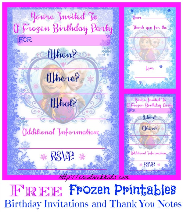 Geeky image with regard to free printable frozen invites