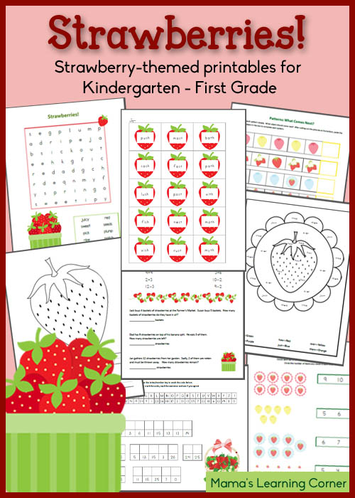 Free Strawberry Printables For Kindergartenfirst Grade. Free Strawberry Printables For Kindergartenfirst Grade Homeschool Deals. Kindergarten. Printables For Kindergarten At Clickcart.co