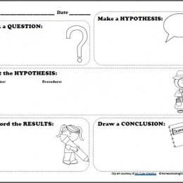 FREE Scientific Method Printable Worksheet