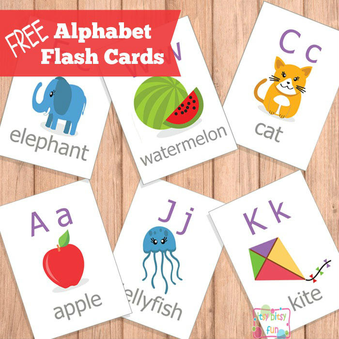 FREE Printable ABC Flash Cards | Free Homeschool Deals ©