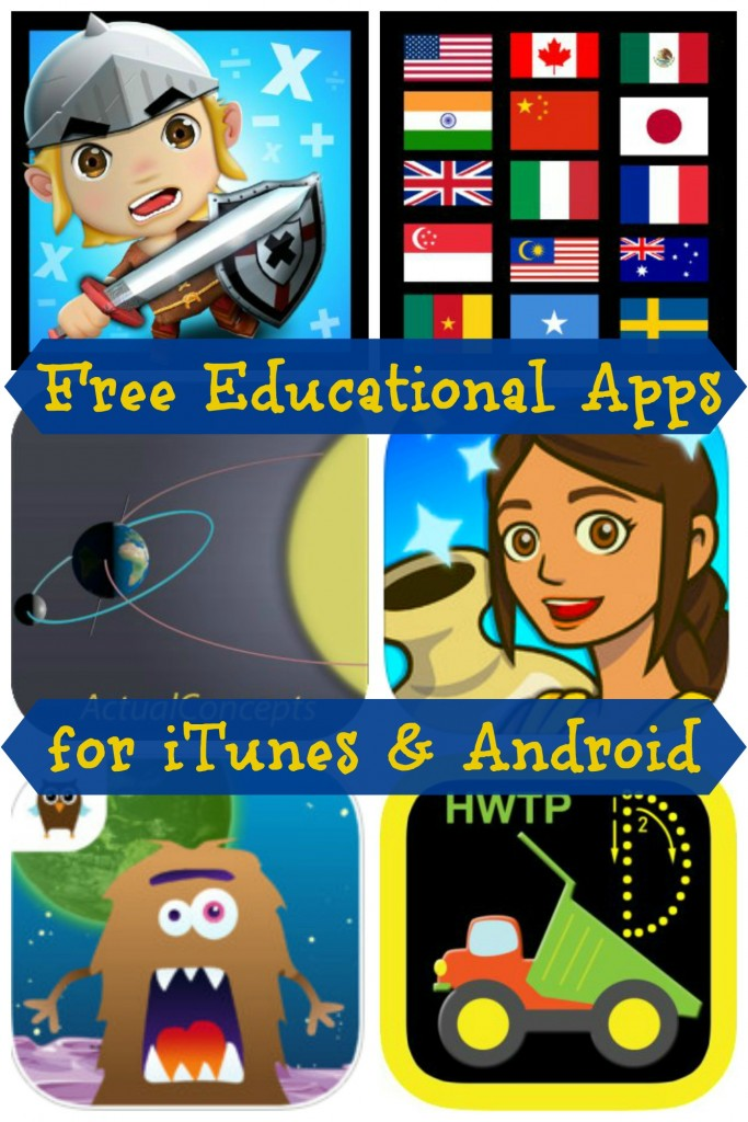 Fun Educational Apps for Kids: Android Apps for kids