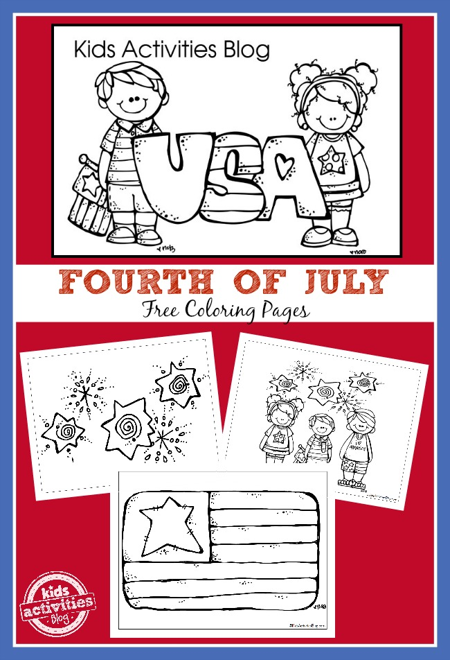 Fourth of July Coloring Pages Free Homeschool Deals