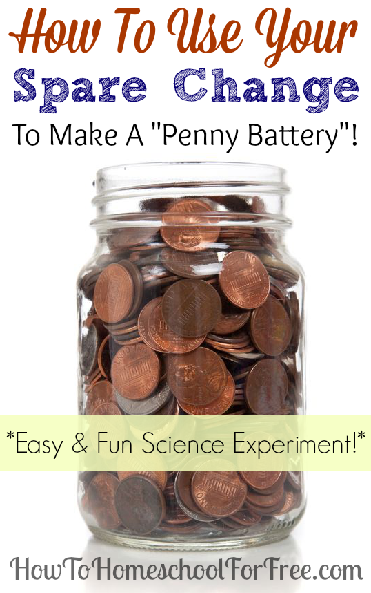 Homeschool Science How To Make A Penny Battery Free