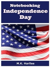 Notebooking Pages: Free Notebooking Independence Day Set
