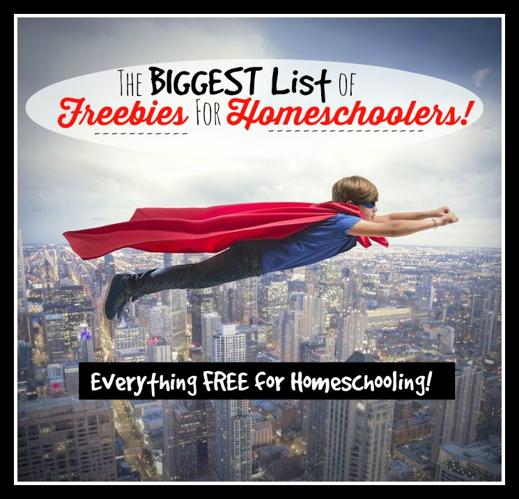 freebies for homeschoolers
