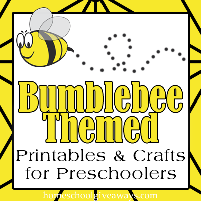 bumblebee themed printables and crafts for preschoolers free homeschool deals. Black Bedroom Furniture Sets. Home Design Ideas