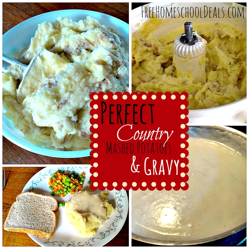 Perfect Country Mashed Potatoes And Gravy Recipe