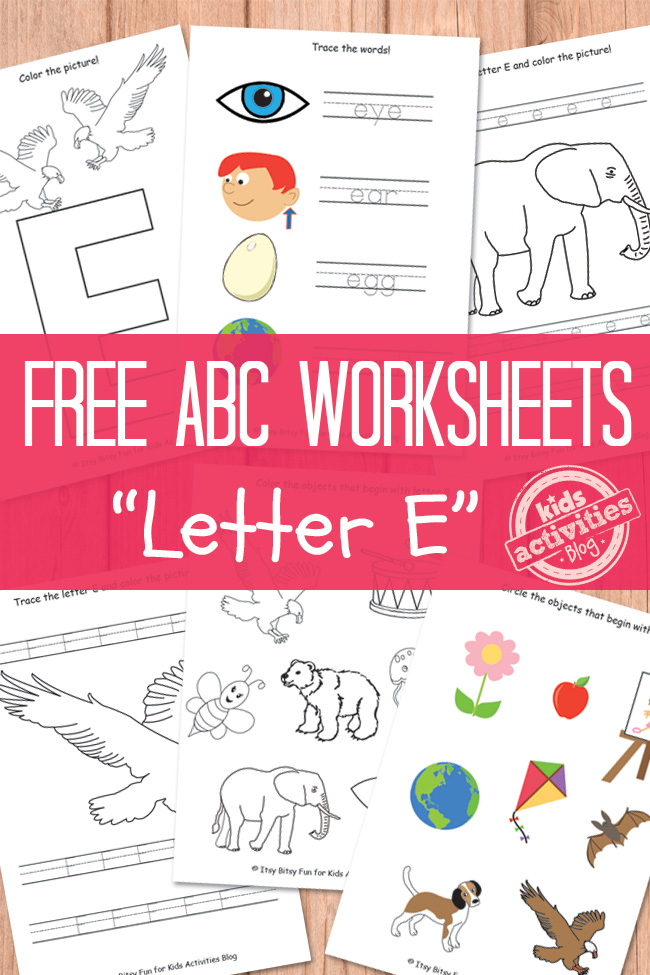 letter e worksheets freebies free homeschool deals. Black Bedroom Furniture Sets. Home Design Ideas