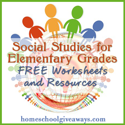 Printables Elementary Social Studies Worksheets free social studies worksheets and resources homeschool deals giveaways has a great list of for elementary she includes gr