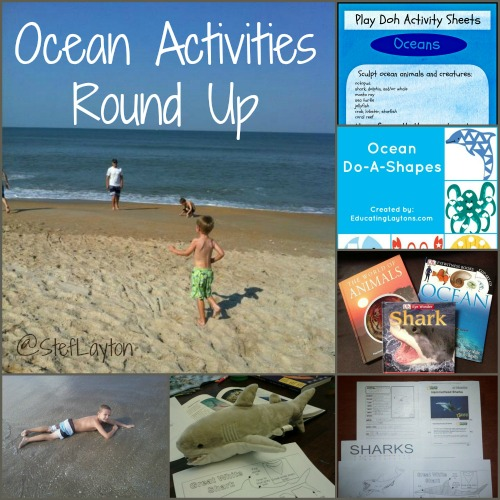 Homeschool Organization, Ocean Activities And Learning