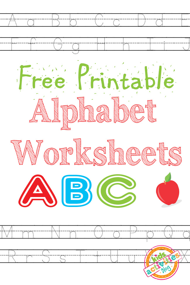 free printable alphabet worksheets free homeschool deals. Black Bedroom Furniture Sets. Home Design Ideas