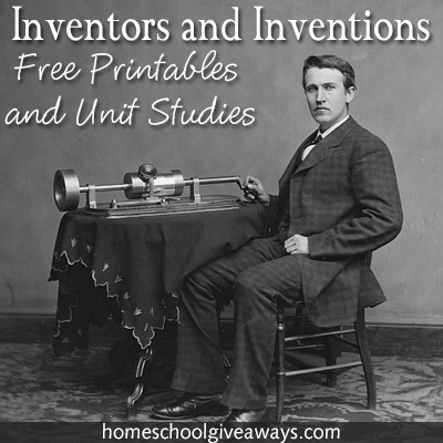 Free Inventors And Inventions Unit Studies Free