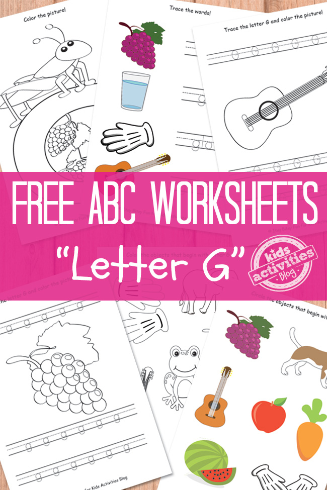 math worksheet : free letter g worksheet  free homeschool deals © : Letter G Worksheets For Kindergarten