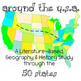 FREE 50 States Literature-Based Geography and History Study Plan