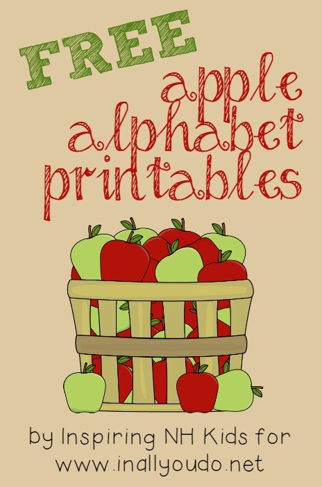 FREE Apple Letter Printables | Free Homeschool Deals