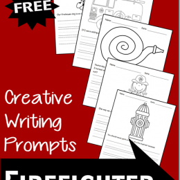 FREE Instant Download: Firefighter Creative Writing Prompts