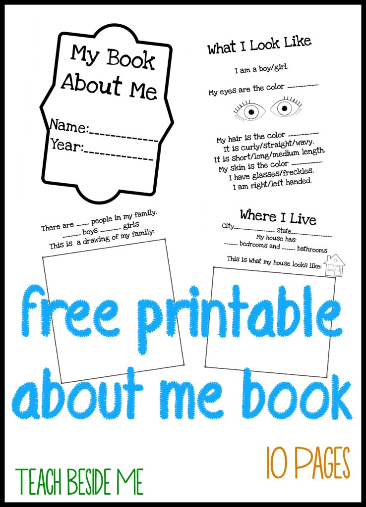 Candid image with regard to free printable children's book template