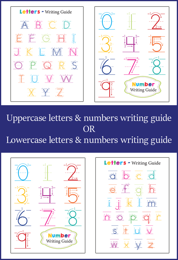free letter and number guide for preschoolers free homeschool deals. Black Bedroom Furniture Sets. Home Design Ideas