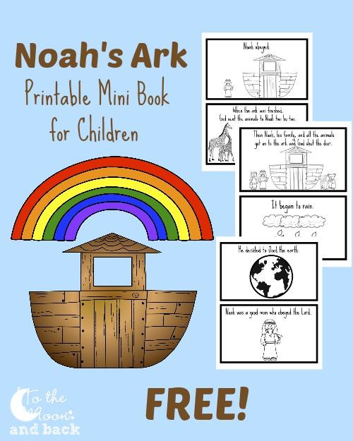 Rare image inside noah's ark printable