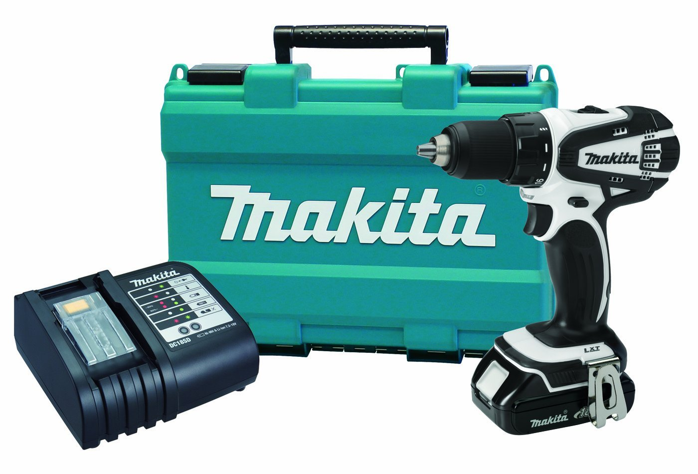 makita 18v compact cordless drill only 99 free. Black Bedroom Furniture Sets. Home Design Ideas
