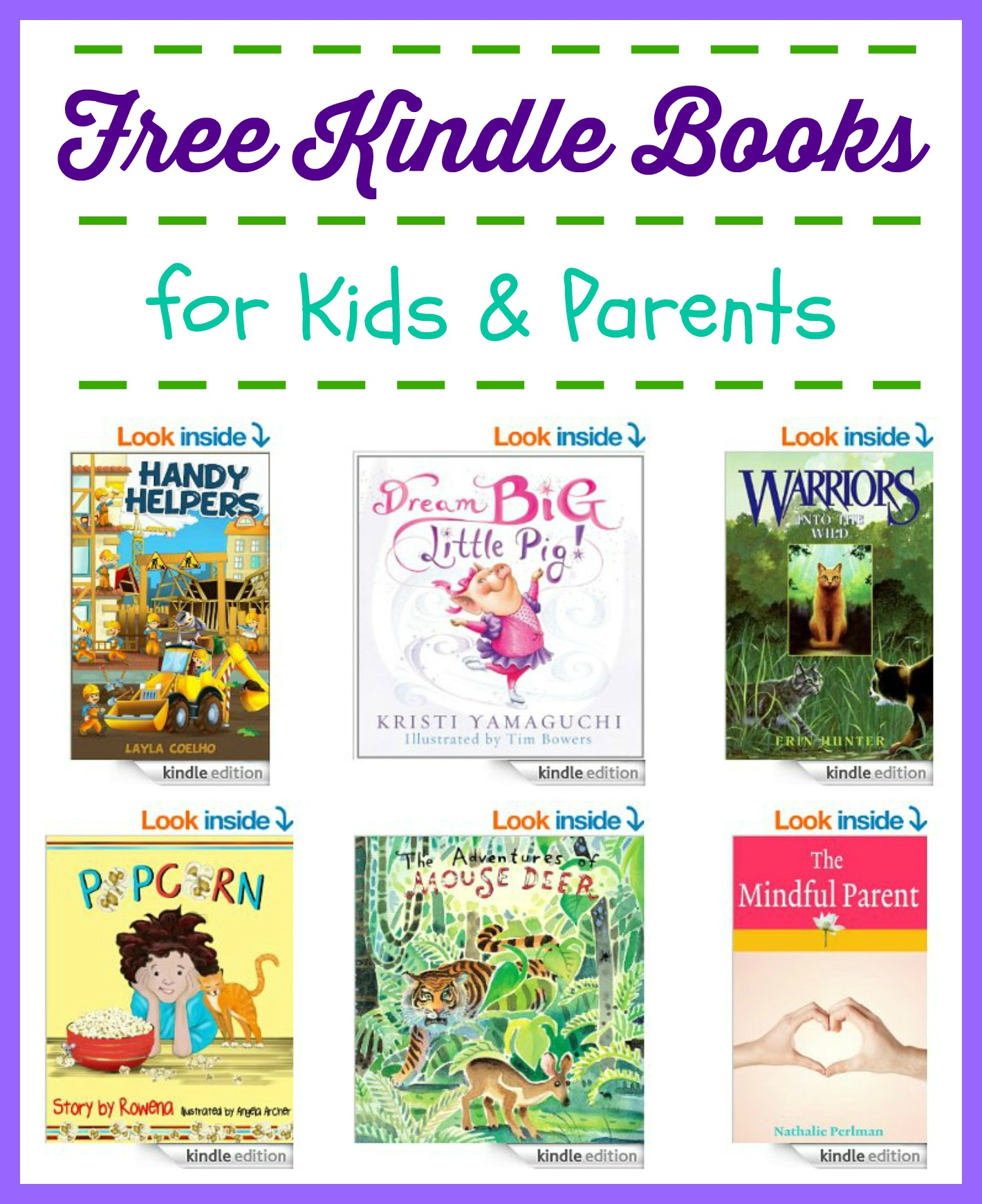 15 Free Kindle Books for Kids & Parents | Free Homeschool ...