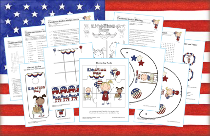 30 election day learning freebies free homeschool unit study resources free homeschool deals. Black Bedroom Furniture Sets. Home Design Ideas