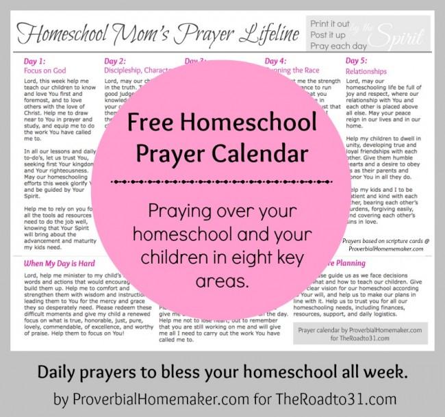 Must Read Homeschool Articles For Encouragement And: Mom's Prayer Lifeline Printable